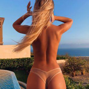 Polina Malinovskaya nude topless