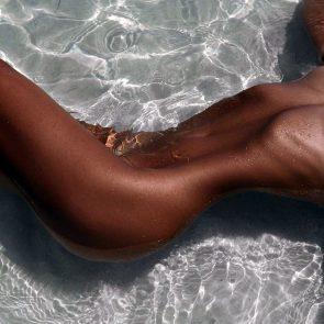 Polina Malinovskaya nude in water
