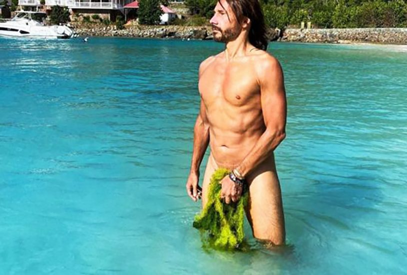 Bob Sinclar NUDE On The Beach & Shirtless, Bulge & Hot Pics 3