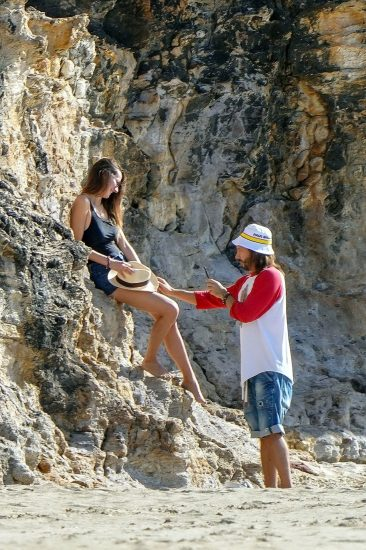 Bob Sinclar NUDE On The Beach & Shirtless, Bulge & Hot Pics 21