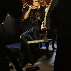 Emma Stone nude soles