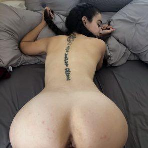 Leyva Jackally nude from behind