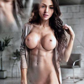 Nyvi Estephan Nude Photos and Naked Porn Video 4