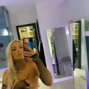 Tana Mongeau topless