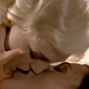 nude Carla Gallo in lesbian sex scene from Carnivale