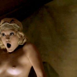 Carla Gallo naked boobs in Carnivale