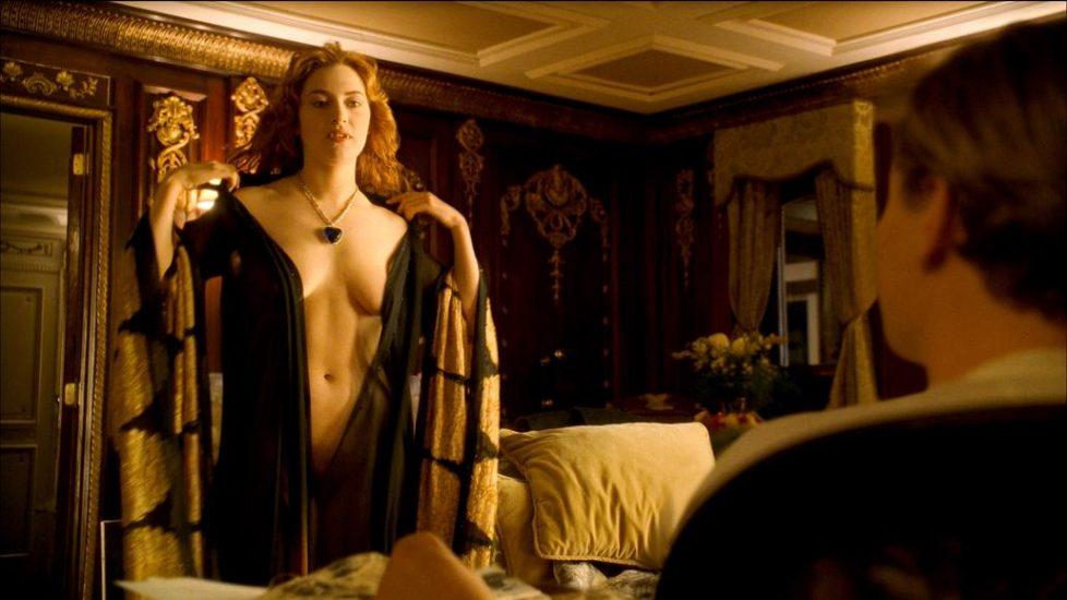 Kate Winslet naked in Titanic - Open Matte 2