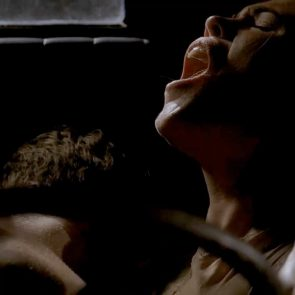 Clea DuVall car sex scene from Carnivale