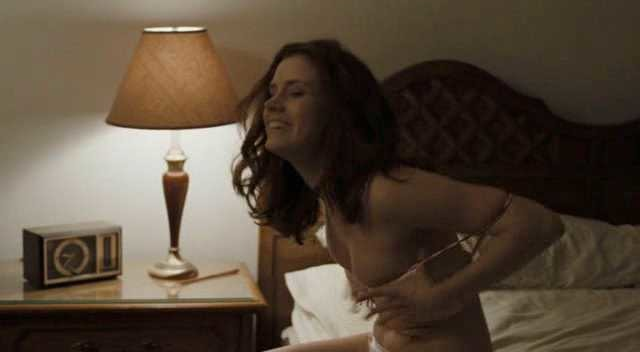 Amy Adams naked boobs in Sunshine Cleaning Topless Version