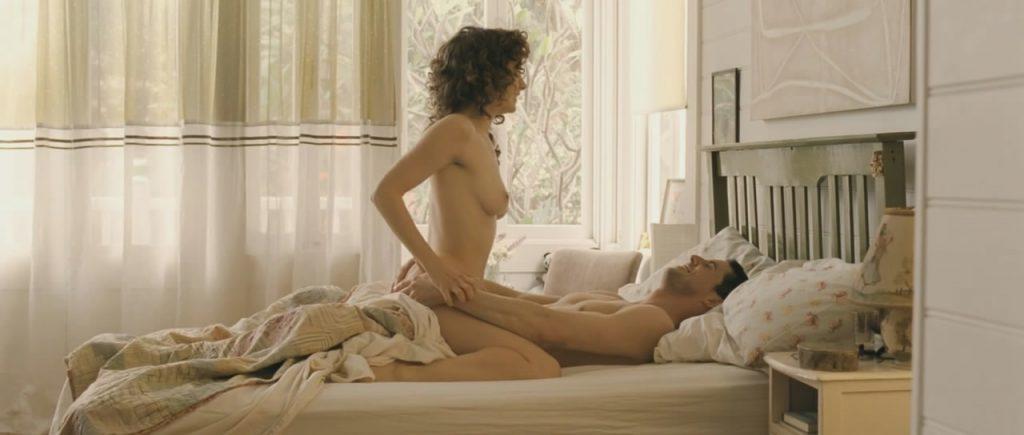 Bojana Novakovic nude sex scene from Burning Man
