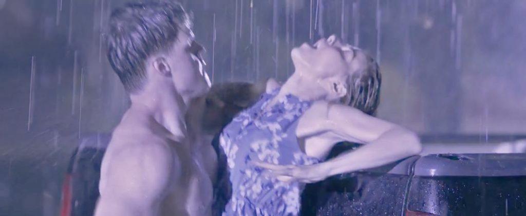 Bojana Novakovic sex in the rain from Malicious