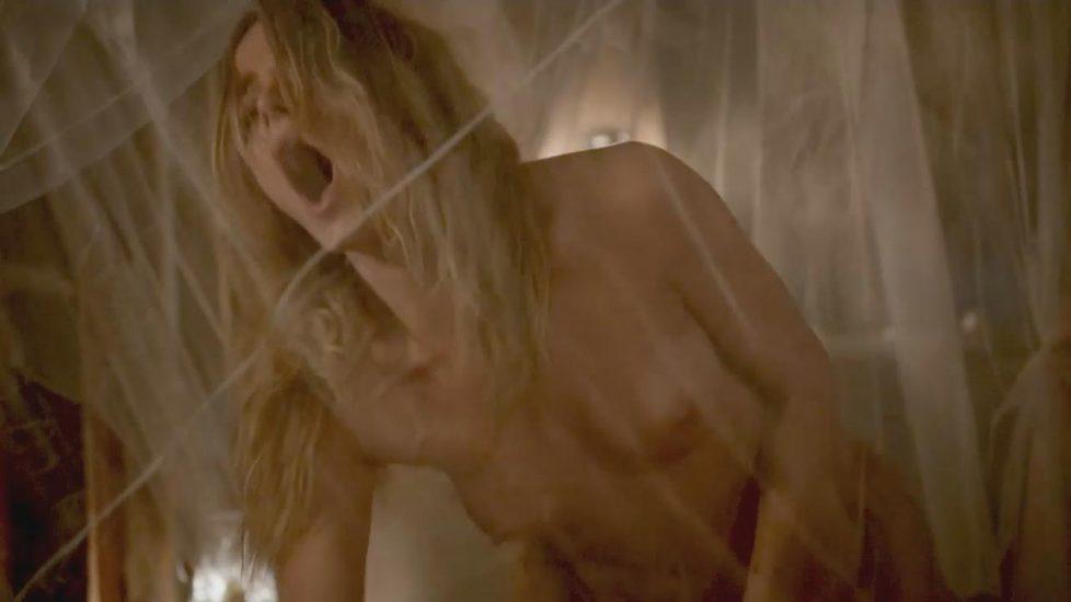 Bojana Novakovic sex scene with old man from Shameless - S05E12 2