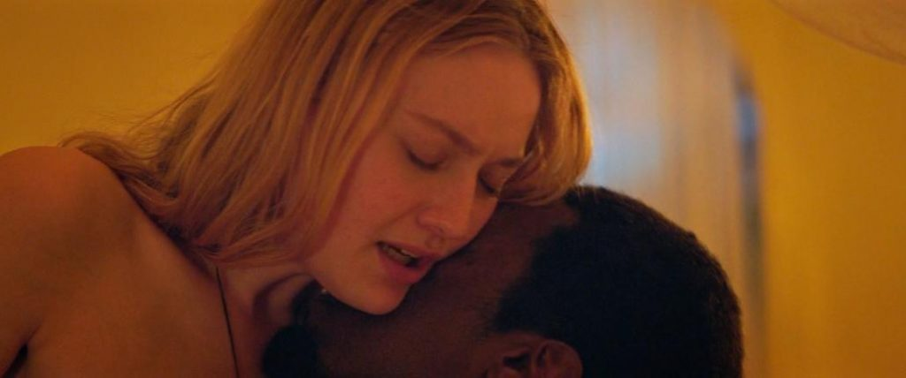 Dakota Fanning interracial sex with black guy from Sweetness in the Belly