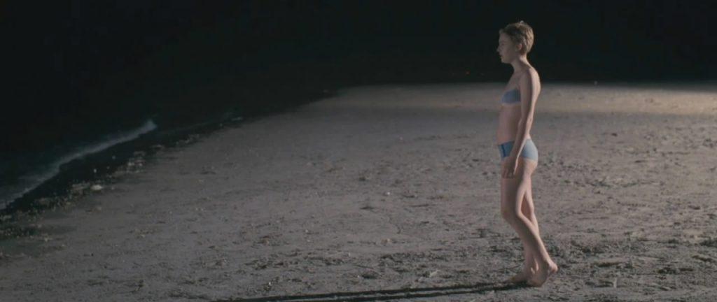 Dakota Fanning sexy lingerie in Now Is Good
