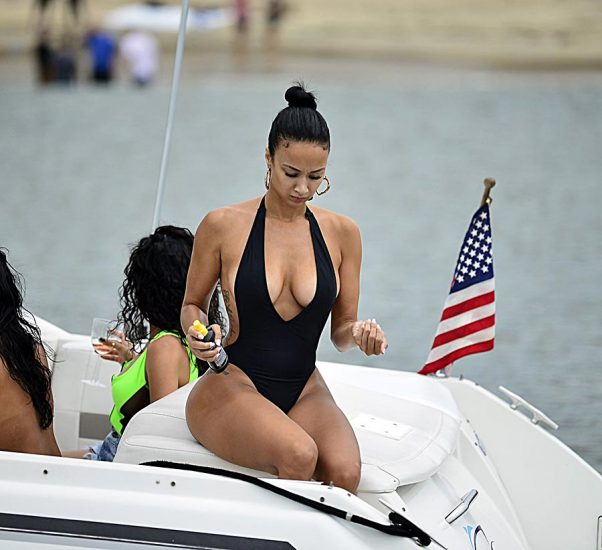 Draya Michele Nude Sex and Blowjob in Leaked Porn Video 38