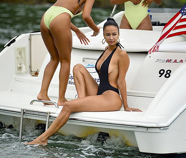 Draya Michele Nude Sex and Blowjob in Leaked Porn Video 41