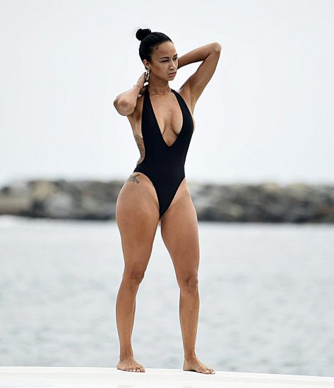 Draya Michele Nude Sex and Blowjob in Leaked Porn Video 49