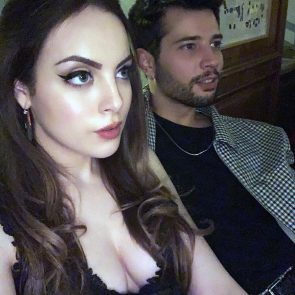 Elizabeth Gillies Nude Photos and Leaked Porn Video 8