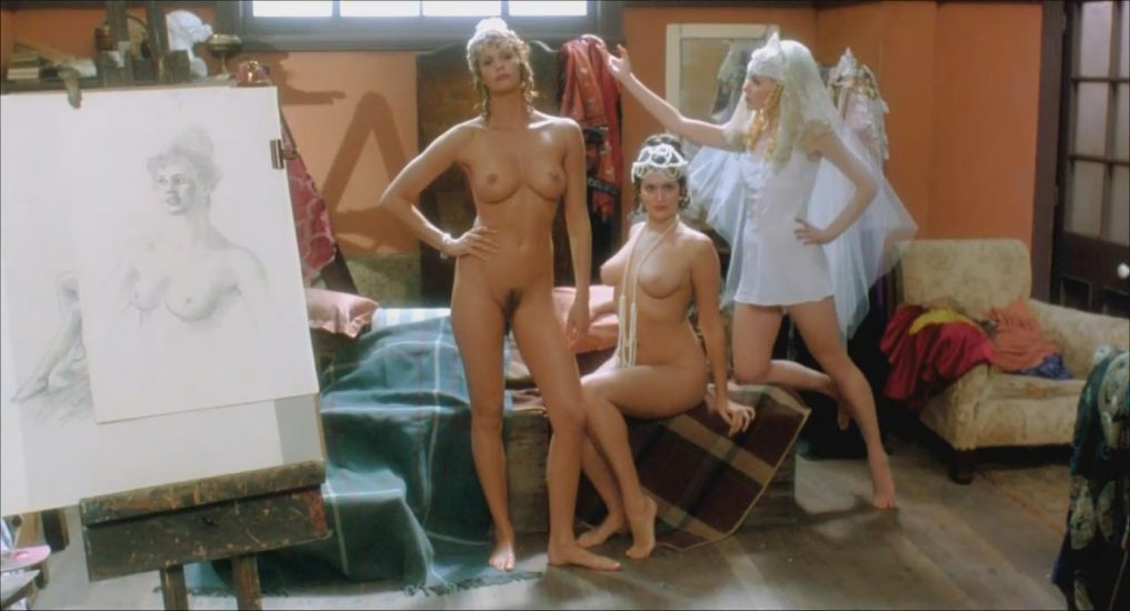 Elle Macpherson nude with Kate Fischer in Sirens 1