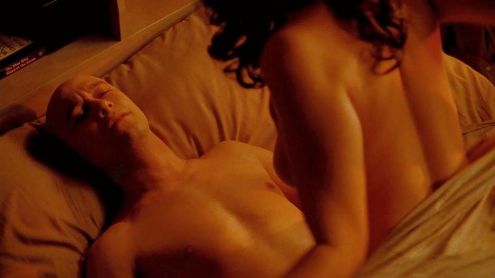 Jessica Parker Kennedy nude sex scene in 50 50