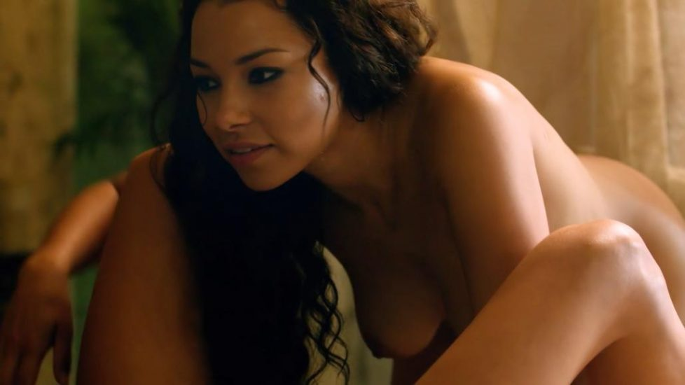 Jessica Parker Kennedy nude with Clara Paget having lesbian sex in Black Sails - S02E03