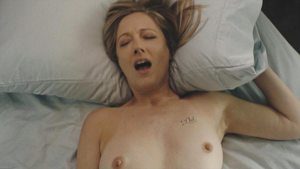 Judy Greer masturbation sex scene from Kidding