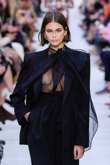Kaia Gerber Nude LEAKED Pics, Topless on the Runway & Porn 56