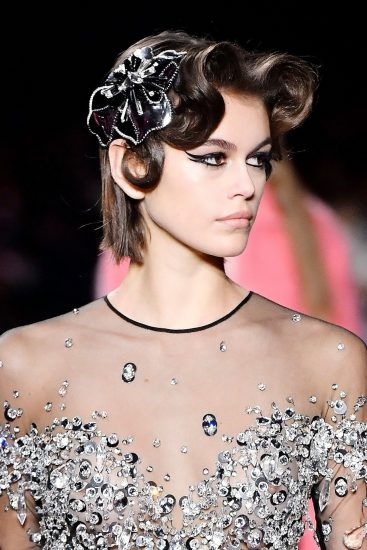 Kaia Gerber Nude LEAKED Pics, Topless on the Runway & Porn 61