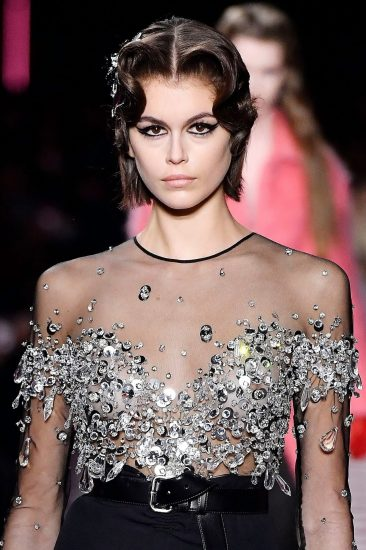 Kaia Gerber Nude LEAKED Pics, Topless on the Runway & Porn 62