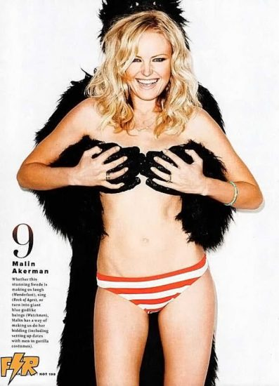 Malin Akerman Nude in Sex Scenes & Topless Pics Collection 95