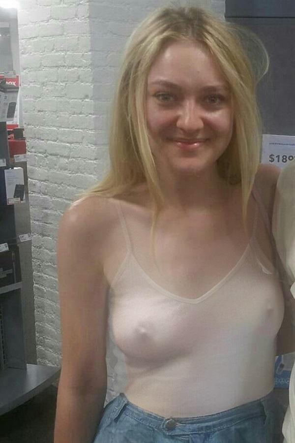Dakota Fanning Nude Scandal Photos and Shocking PORN video 2