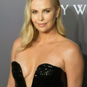Charlize Theron Nude Photos and Scenes Collection 33