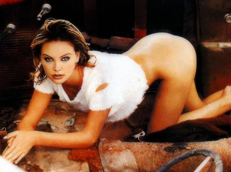 Charlize Theron Nude Photos and Scenes Collection 9