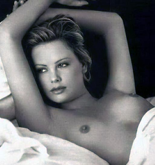 Charlize Theron Nude Photos and Scenes Collection 19