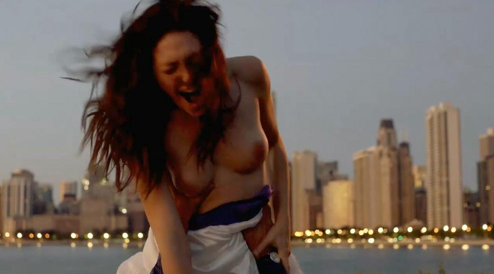 Emmy Rossum Nude and Sex Scenes Collection 2021 18