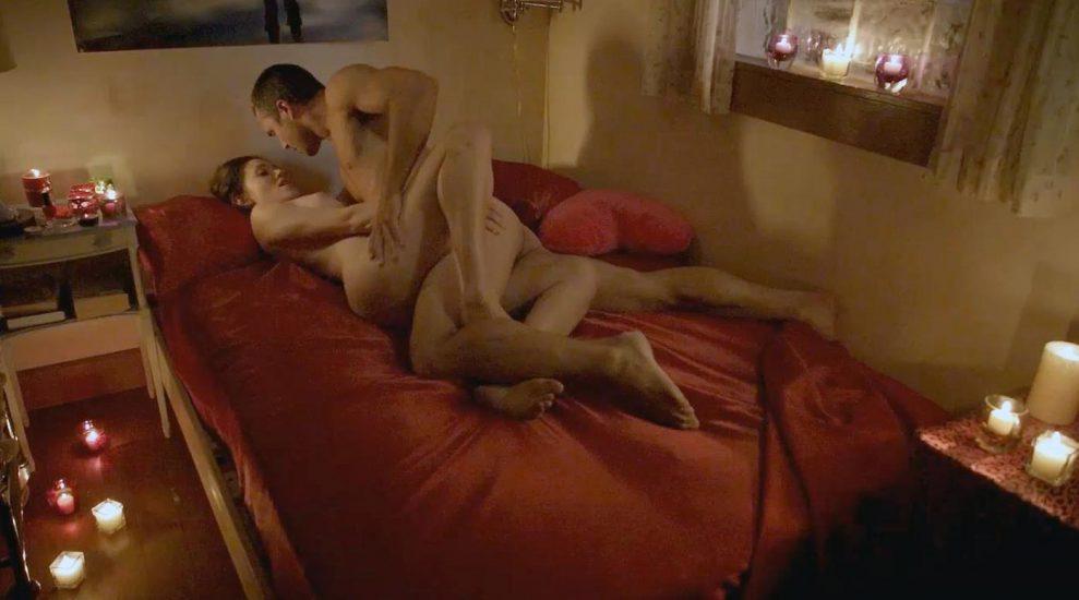 Emmy Rossum nude in sex scene