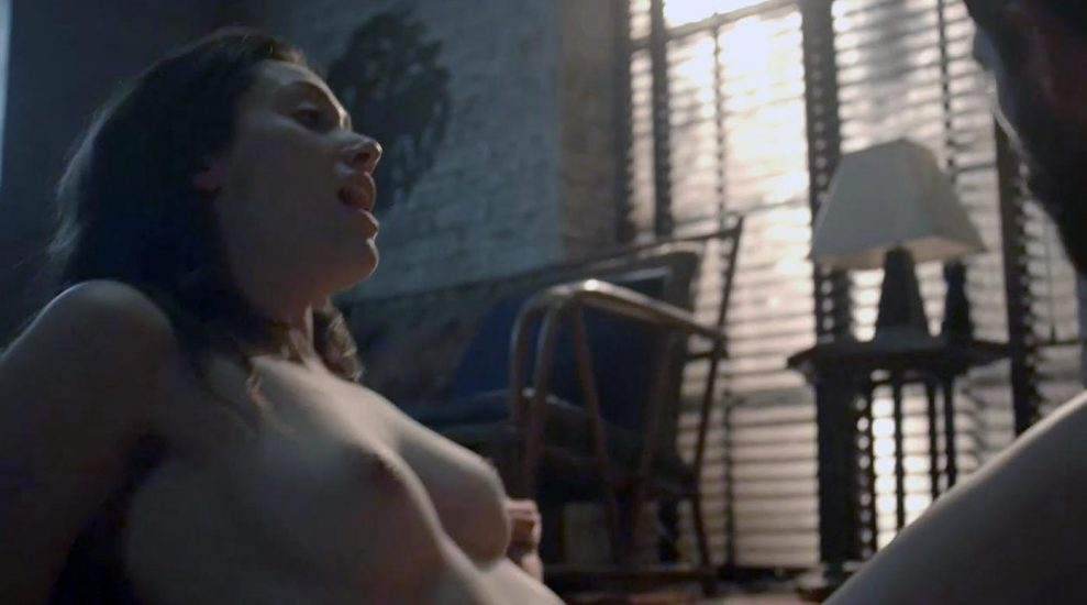 Emmy Rossum Nude and Sex Scenes Collection 2021 34