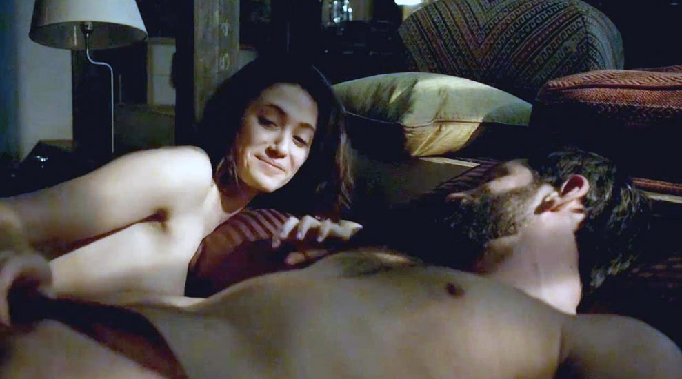 Emmy Rossum Nude and Sex Scenes Collection 2021 35