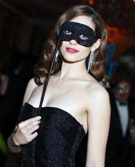 Emmy Rossum nude mask