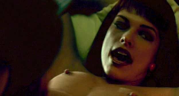 Milla Jovovich nude sex in He Got Game