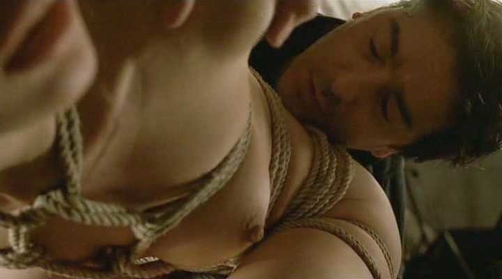 Olga Kurylenko bondage sex in LeSerpent 2
