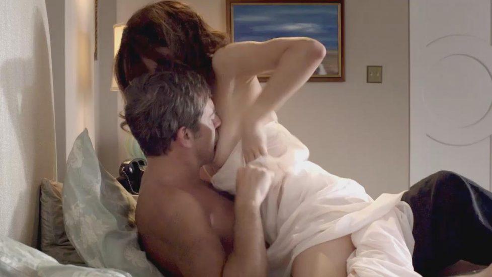 Olga Kurylenko naked sex in Magic City - S01E02
