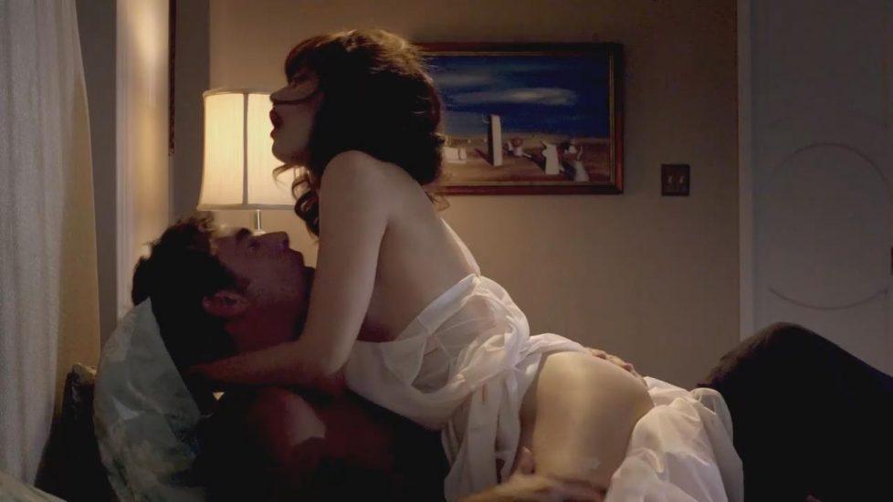 Olga Kurylenko naked sex in Magic City - S01E02 2