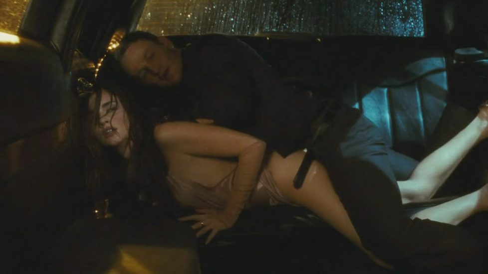 Paz Vega sex in a car from The Human Contract