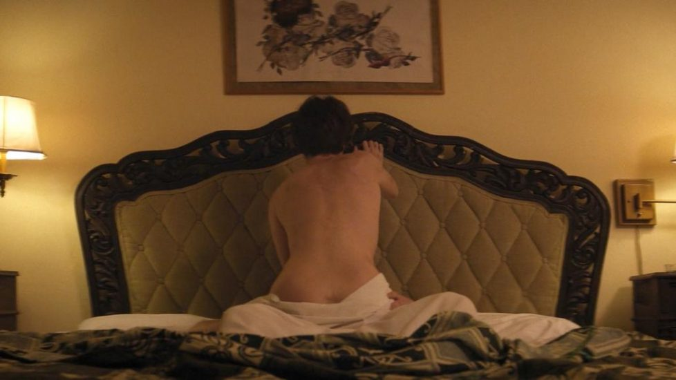 Paz Vega topless cowgirl style sex in The OA 1