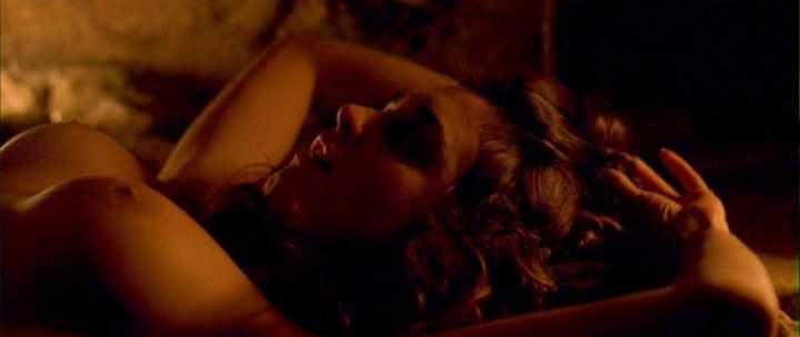 Paz Vega topless sex in Carmen