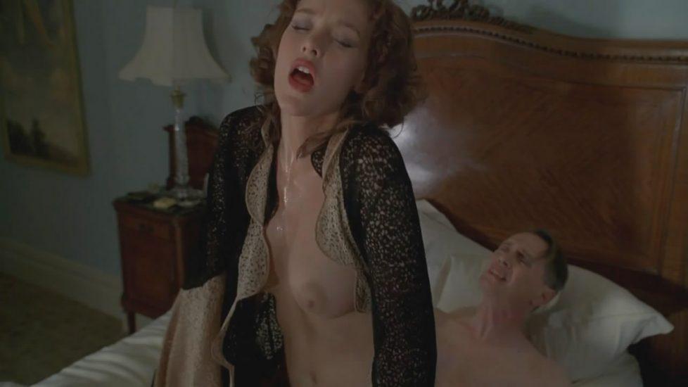 Paz de la Huerta topless sex in Boardwalk Empire - S01E01 1