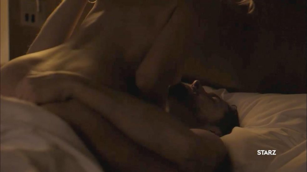 Riley Keough naked cowgirl sex 1