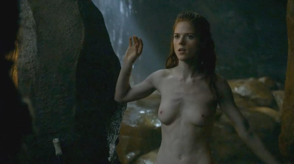 Rose Leslie nude sex in Game of Thrones - S03E05