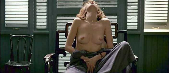 Sylvia Kristel masturbation in Emmanuelle